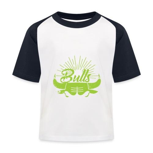 Toros verdes, Bulls BasketBall deporte - Camiseta béisbol niño