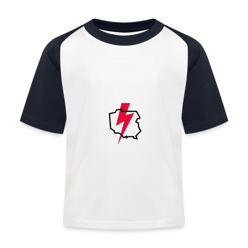 Poland thunder. Protest Ppolka - Koszulka bejsbolowa dziecięca