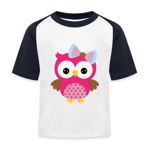 Eulenprints - Kinder Baseball T-Shirt