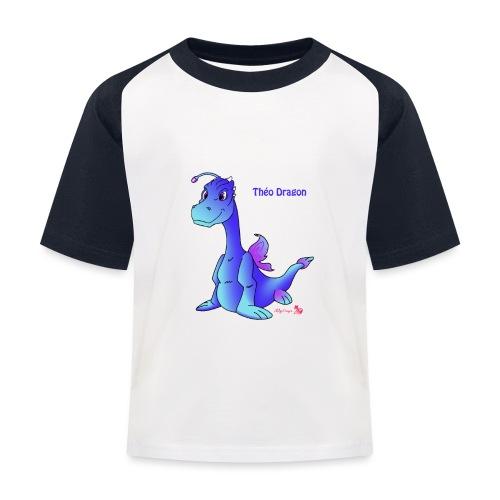 Théo Dragon - T-shirt baseball Enfant