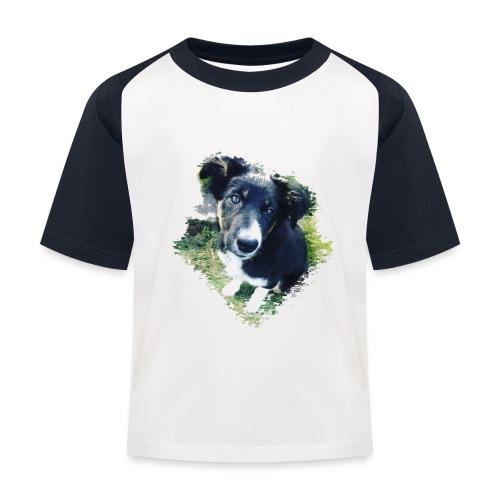 colliegermanshepherdpup - Kids' Baseball T-Shirt