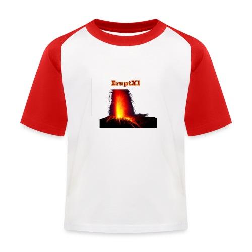EruptXI Eruption! - Kids' Baseball T-Shirt