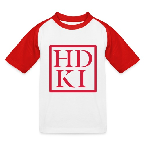HDKI logo - Kids' Baseball T-Shirt