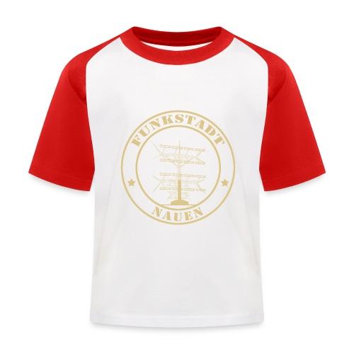 Goldener Funker - Kinder Baseball T-Shirt
