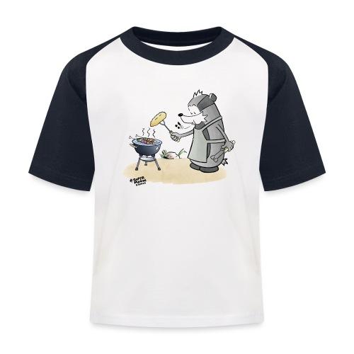 Grillmeister - Baseball-T-skjorte for barn