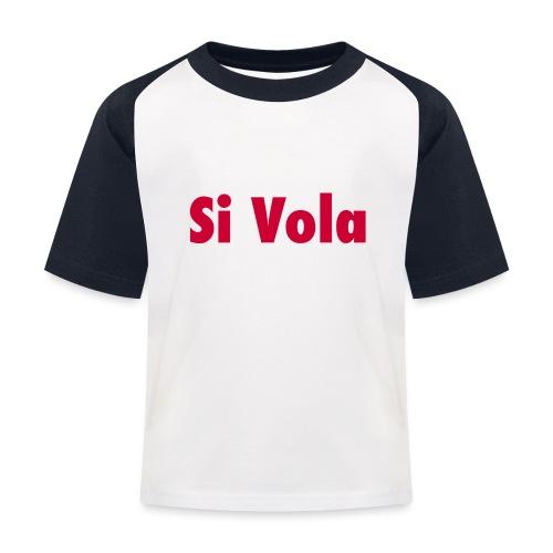 SiVola - Maglietta da baseball per bambini