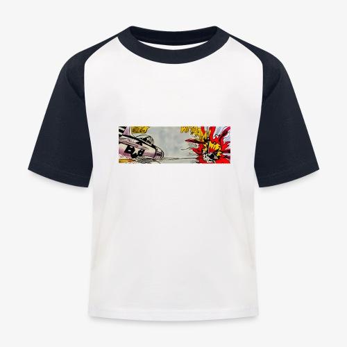 ATOX - Maglietta da baseball per bambini