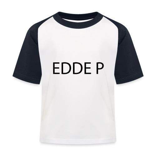 EDDE P - Baseboll-T-shirt barn