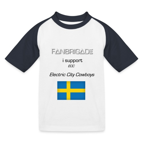 Fanbrigade - Baseball T-shirt til børn
