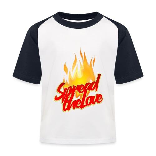 spread png - Maglietta da baseball per bambini