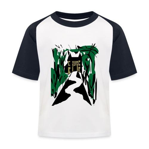 HALLOWEEN SPOOKY HAUNTED MANSION 2017 - Kinder Baseball T-Shirt