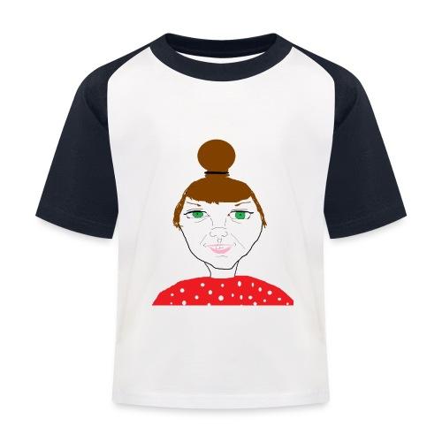 Bonny with a bun - Baseboll-T-shirt barn