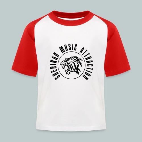 Sherikan Logo - Baseboll-T-shirt barn