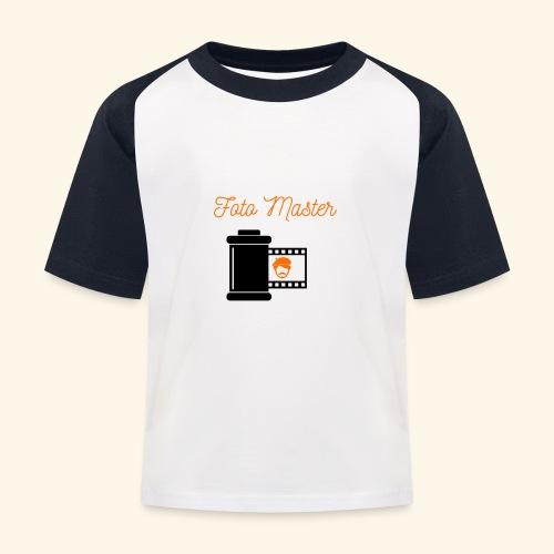 Foto Master - Baseball T-shirt til børn