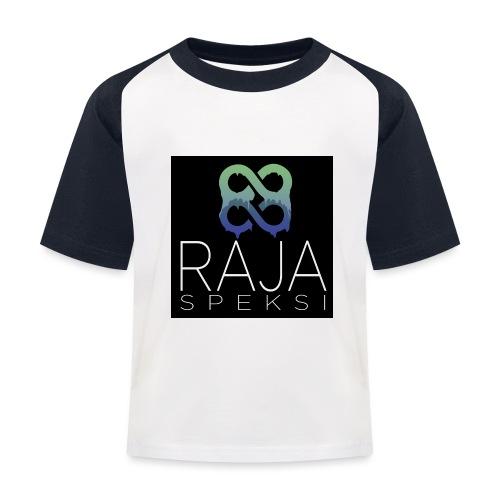 RajaSpeksin logo - Lasten pesäpallo  -t-paita