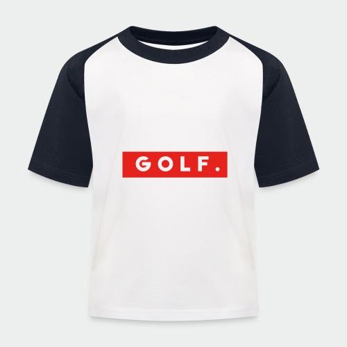 GOLF. - T-shirt baseball Enfant