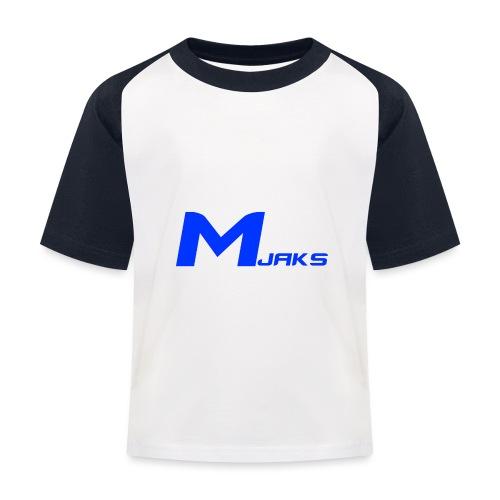 Mjaks 2017 - Kinderen baseball T-shirt