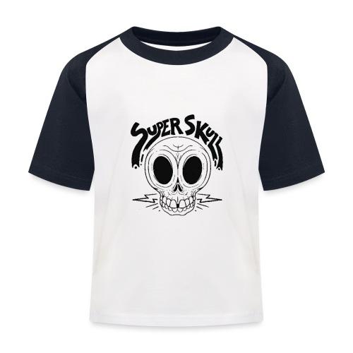 superskull - T-shirt baseball Enfant