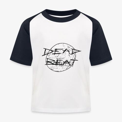 DeadBeat logo - Kids' Baseball T-Shirt