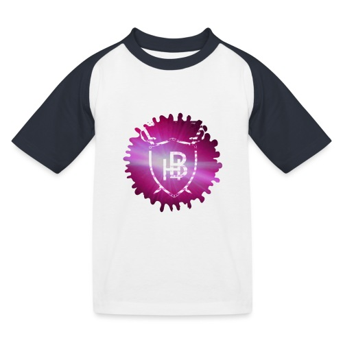 Hustler Brand - T-shirt baseball Enfant