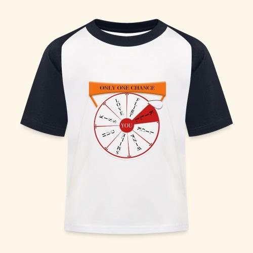 wheel of fortune? - Maglietta da baseball per bambini