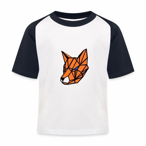 renard geometrique - T-shirt baseball Enfant
