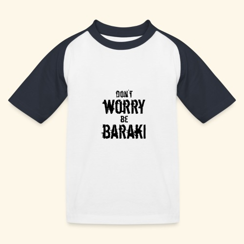Be Baraki (Noir) - T-shirt baseball Enfant