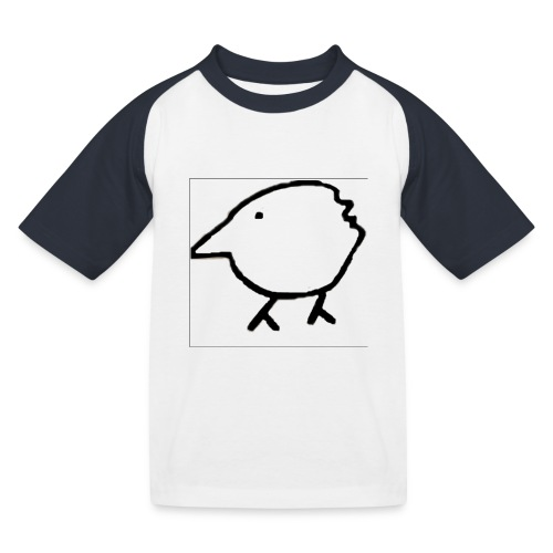 Autsider Fred - Kinder Baseball T-Shirt