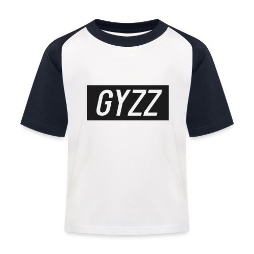 Gyzz - Baseball T-shirt til børn