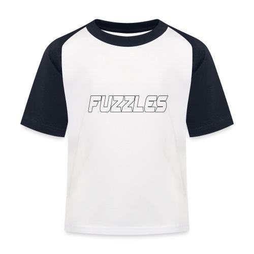 fuzzles - Kids' Baseball T-Shirt