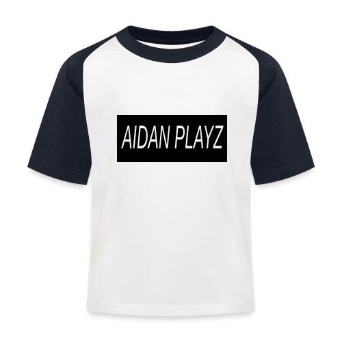 AIDAN - Kids' Baseball T-Shirt