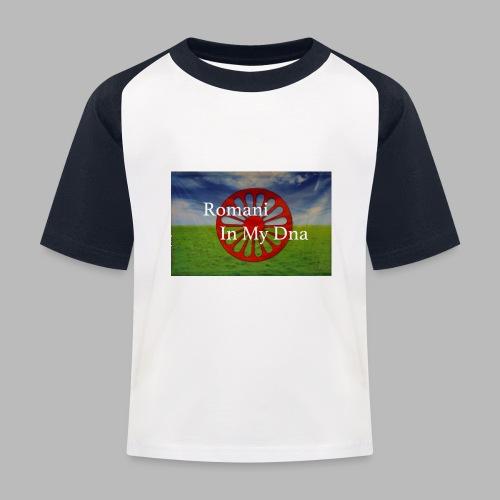 flagromaniinmydna - Baseboll-T-shirt barn