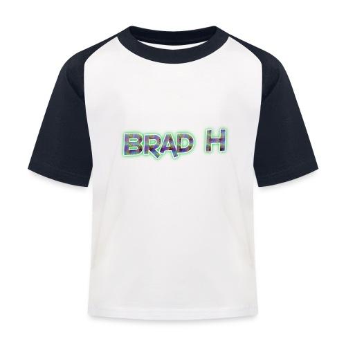 Official Brad H Logo - Kids' Baseball T-Shirt