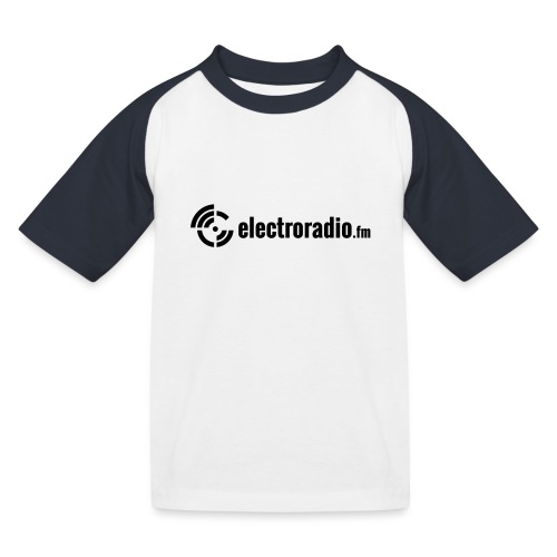 electroradio.fm - Kids' Baseball T-Shirt
