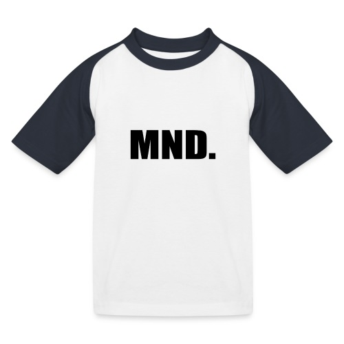MND. - Kinderen baseball T-shirt