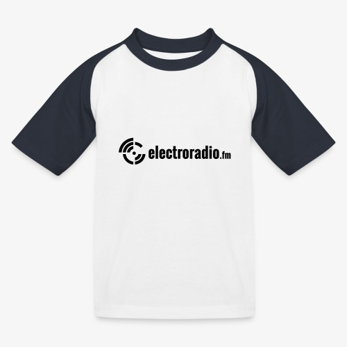 electroradio.fm - Kinder Baseball T-Shirt