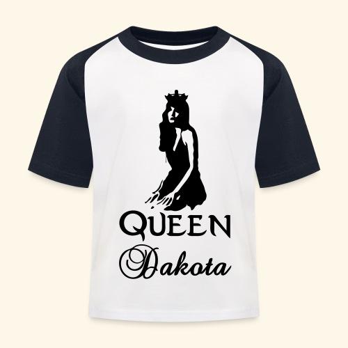 Queen Dakota - Kids' Baseball T-Shirt