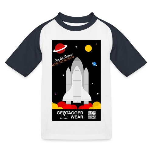 Rocket Science Kids - Kinder Baseball T-Shirt