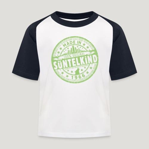 SÜNTELKIND 1966 - Das Süntel Shirt mit Süntelturm - Kinder Baseball T-Shirt