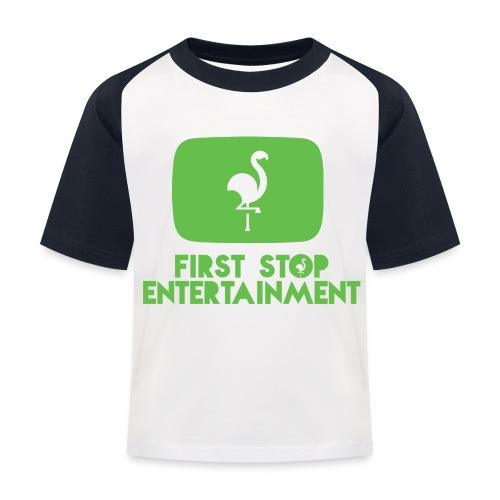 Box Logo png - Baseball-T-skjorte for barn