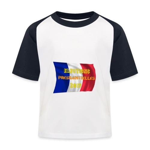 ELECTIONS 2017 - T-shirt baseball Enfant