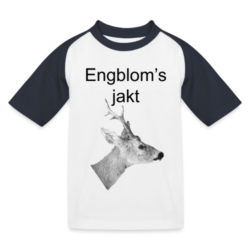 Officiell logo by Engbloms jakt - Baseboll-T-shirt barn