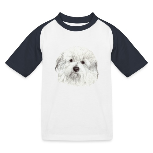coton-de-tulear - Baseball T-shirt til børn