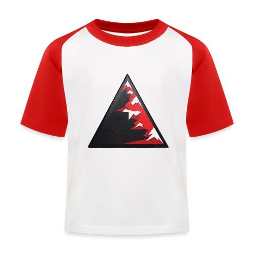Climb high as a mountains to achieve high - Kids' Baseball T-Shirt