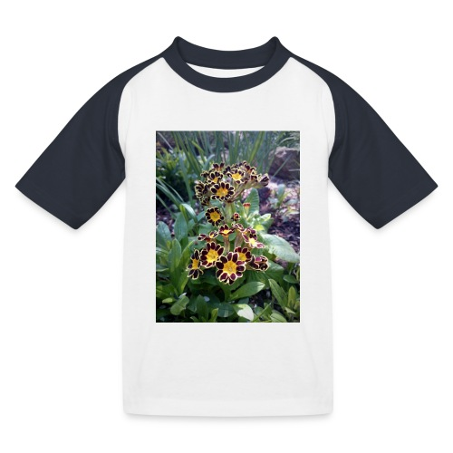 Primel - Kinder Baseball T-Shirt