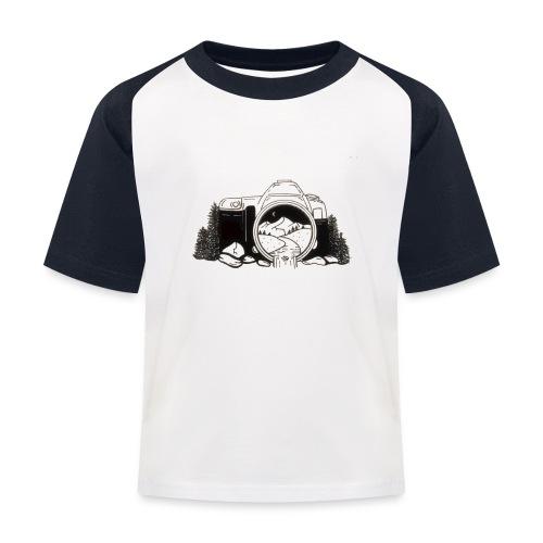 Wild Life Through A Camera Lens - Baseball T-shirt til børn