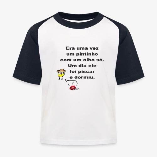 Era uma vez... - Kids' Baseball T-Shirt