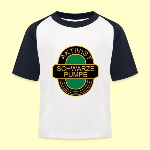 BSG Aktivist Schwarze Pumpe - Kinder Baseball T-Shirt