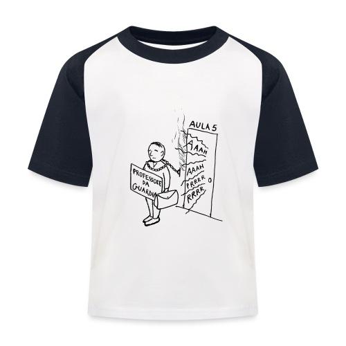 prof da guardia - Maglietta da baseball per bambini