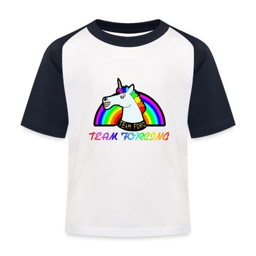 Logo officiel de la team forcing - T-shirt baseball Enfant